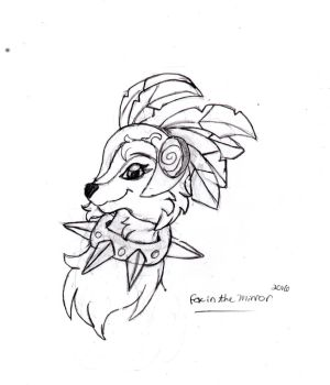 Animal Jam| Queen IcyFlower  ( please read desc.) by Thefoxinthemirror