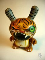 Tiger custom Dunny by bryancollins
