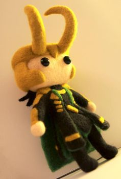 Mini!Loki (Badass Edition) by cat-cat