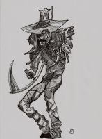 Batman - The Scarecrow by GreenTurtle666