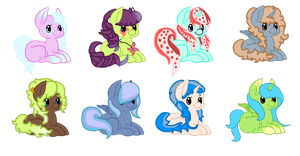MLP - Adoptable Collab - OPEN - 1 LEFT! by cheesepuff2
