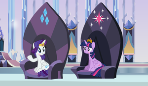 Pair of Queens by 3D4D
