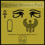 Egyptian Brushes Pack by LauNachtyr
