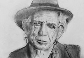 Keith Richards by CaptainEdwardTeague