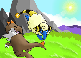 Request: Tyrunt and Mareep