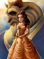Beauty and The Beast by Luaprata91