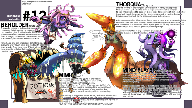 Monster Musume+: Dungeon Species by Dragonith