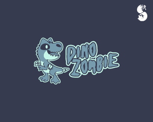 DinoZombie-Logo by whitefoxdesigns