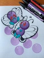 Couple of Butterfree by Wings-Dragon