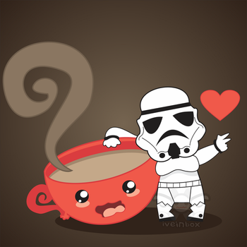 Stormtroopers  loves coffee... by iveinbox