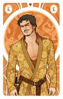 Game of Thrones' Cards VARIANT King Oberyn Martell by SimonaBonafiniDA