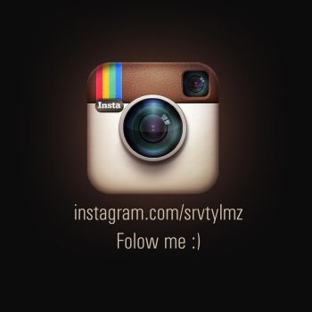 Instagram - Follow me by Servetinci