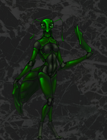 Mantis by Colanah