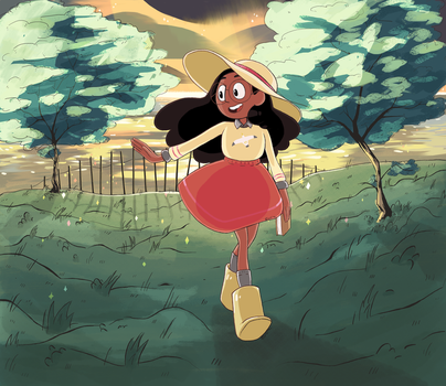 Connie at Sunset by chocoellie