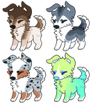 Puppy adopts CLOSED by Makcake