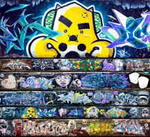 South East Asian Graffiti Jam by theyellowdino