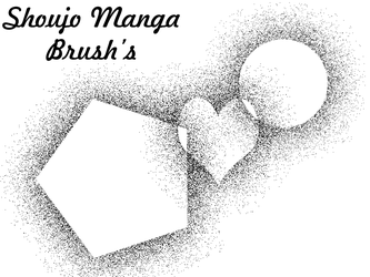 Shoujo Manga Brush by castymaat