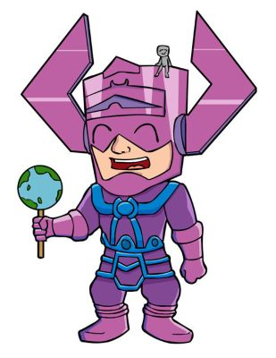 Chibi Galactus hungers by thegame2158