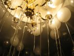 The Balloons Meet the Chandelier by TheJenjineer