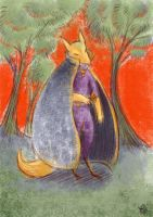 Mysterious Fox by LaurierTheFox