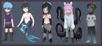 [4-5] Male Mixed Batch [OPEN - SET PRICE] by DakinAdopts