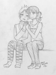 Commission: Melody and Lukas by BlackHayate02