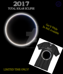 Total Solar Eclipse T-shirt. by Thamyris71