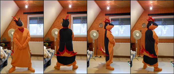 Quilava Cosplay by Starfighter-Suicune