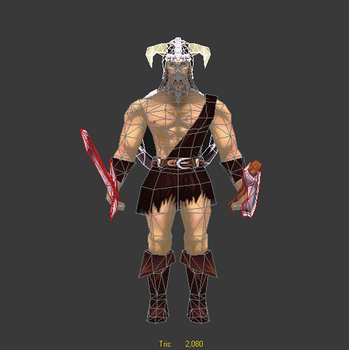 Barbarian by Lowpoly-Workshop