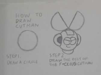 How to draw Cutman by ScrapPaper16