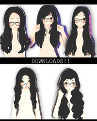 August! Sims3HairSETDL! by ThisisKENZ