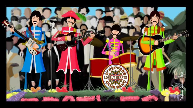 Sgt Pepper by Cranimation