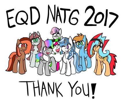 EQD ATG 2017 Day 30: The End! (Fixed Description) by PonyByteSketches