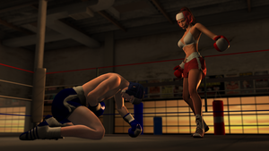 Sparring at Dusk 4 by ffists7