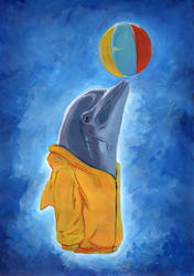 Dolphin by OFart