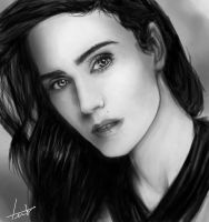 Estudo de Sombra e Luz 2 - Jennifer Connelly by LouizBrito