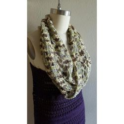 Solomon Knot Infinity Scarf by Soleil-Radieux