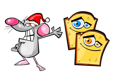 Rat and Tost by nuknueve