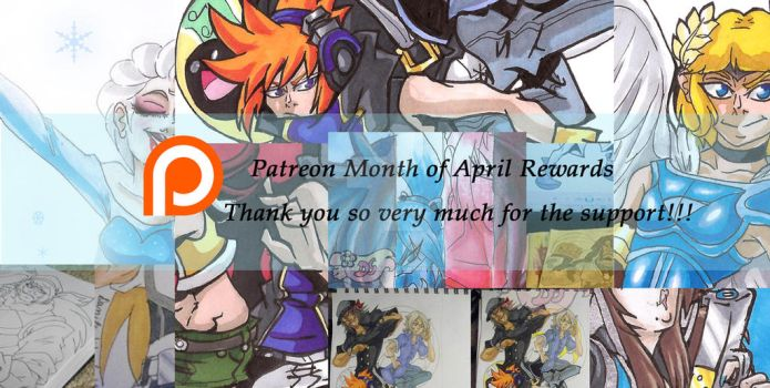 Patreon Month of April Rewards by BetaoftheBass