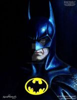 I'M BATMAN - Michael Keaton by The-Art-of-Ravenwolf