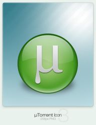 uTorrent Icon 3 by cyberchaos05