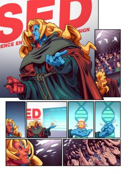 Street Fighter Unlimited Issue 5 - Preview 2 by edwinhuang