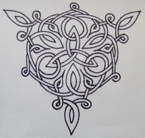Celtic Knot by Geologist