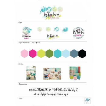 Travel Agent logo and mood board by mishka19