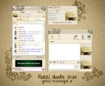 Yahoo Messenger Floral Doodle by phetsss