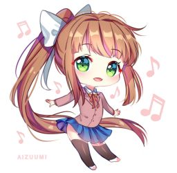 Just Chibi Monika [+Video] by Aizuumi
