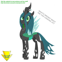 Chrysalis Says What by Imaflashdemon