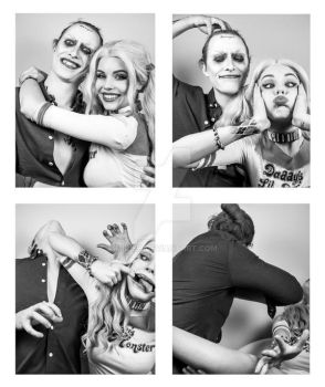 Harley and Joker - Photobooth (Ver 1) by Mirish