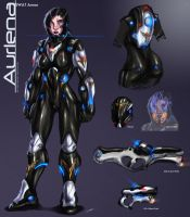 Aurlena SWAT armor [outdated] by Ultamisia
