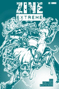 Zine Extreme_cover by Santolouco